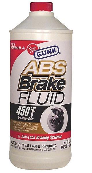 GUNK - Тормозная жидкость для систем с ABS 946 мл (M4632)