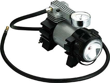 Компрессор AIRLINE CLASSIC-1 с манометром и фонарем в сумке (30 л/мин, 7атм) (CA03001)