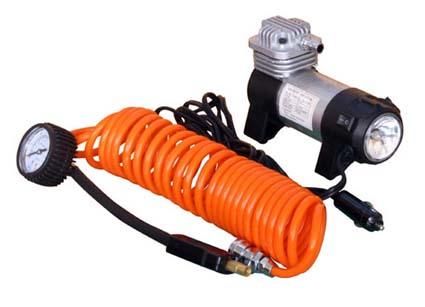 Компрессор AIRLINE CLASSIC-2 съёмный манометр, фонарь, в сумке(30л/мин, 7 атм) (CA03002)