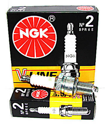 Свечи  NGK V-Line №2 ВАЗ-2108 (карбюратор) (BPR6E) (2268)