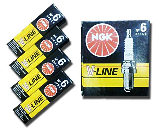 Свечи  NGK V-Line №6 ГАЗ (дв.406) (BPR5E) (7281)