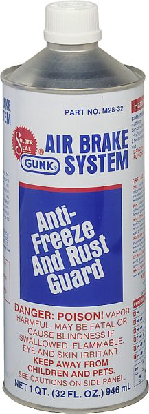 GUNK - Антифриз-Антикор пневматической тормозной системы 946 мл (M2832)