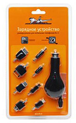 Зарядное устройство для мобил. устройств AIRLINE (8 в 1) (ACHM01)