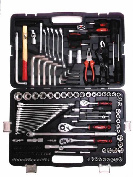 Набор профессионального инструмента (142 предметов) Сервис Ключ (11142)
