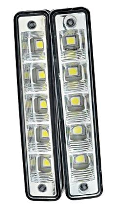 Дневные ходовые огни 10 LED белые AIRLINE (ADRL03W1002) (2шт)