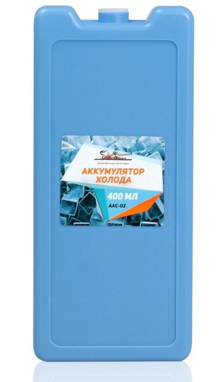 Аккумулятор холода, 400 мл, размер 18*8,2*3 см  AIRLINE  AAC02 &
