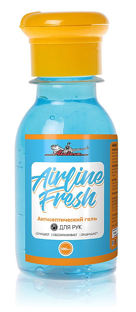 Антисептик-гель для рук 100мл AIRLINE (AAG01) &