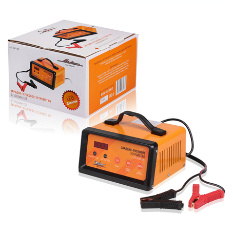 Зарядно-пусковое устройство AIRLINE (12V, 2/15/100A) LED дисплей, трансформаторное (AJSCHJ100)